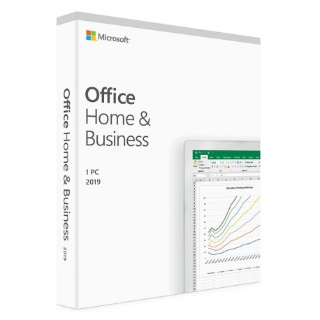 Microsoft Office 2019 Home and Business, 32/64 bit, toate limbile, licenta electronica