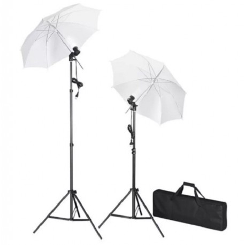 Kit lumini studio, tripoduri+umbrele