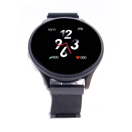 Ceas smartwatch E-BODA Smart Time 450 Silicon Culoare Negru